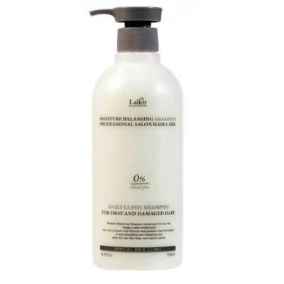 Шампунь безсиликоновый Lador Moisture Balancing Shampoo, 530 мл.