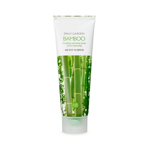 Очищающая пенка Holika Holika Daily Garden Bamboo Soothing cleansing foam