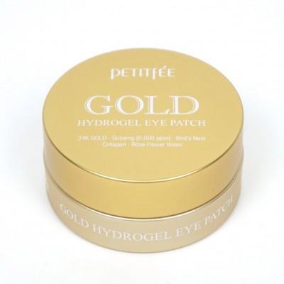 Гидро-гелевые патчи для век Petitfee Gold Hydrogel Eye Patch
