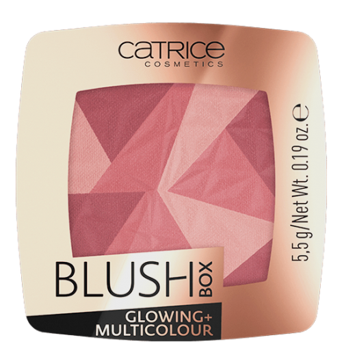 Румяна CATRICE Blush Box Glowing + Multicolour, 020 It´s wine o´clock
