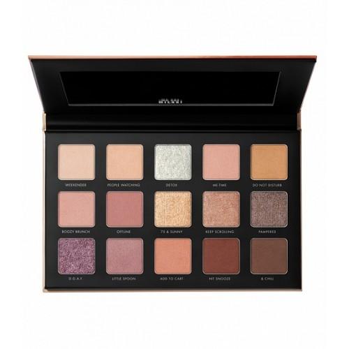 Палетка теней Milani Gilded Nude Eyeshadow Palette
