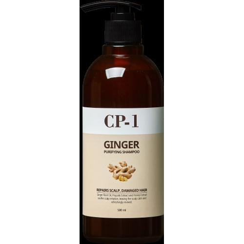 Шампунь для волос имбирный Esthetic House Ginger Purifying Shampoo, 500 мл