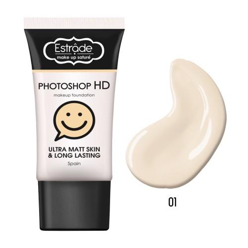 Устойчивый матирующий тональный крем Estrade Photoshop HD