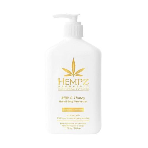 Молочко для тела увлажняющее Молоко и Мед Hempz Milk & Honey Herbal Body Moisturizer, 500 мл.
