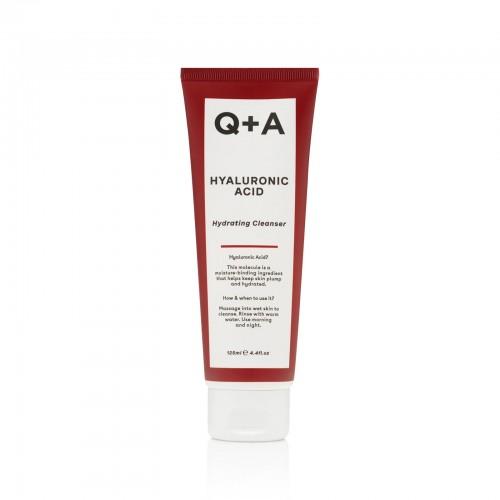 Очищающий увлажняющий гель для лица Q+A HYALURONIC ACID 125 мл