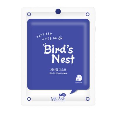 Тканевая маска c экстрактом ласточкиного гнезда MIJIN Bird`s Nest Mask