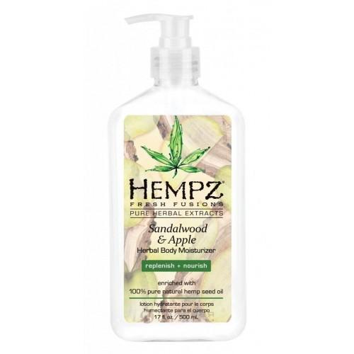Молочко для тела Сандал и Яблоко Hempz Sandalwood & Apple Herbal Body Moisturizer, 500 мл.