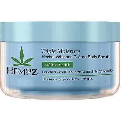 Скраб для тела Тройное увлажнение Hempz Triple Moisture Herbal Body Scrub, 176 г.