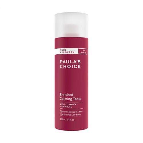Питательный успокаивающий тоник для нормальной, сухой кожи Paula's Choice Skin Recovery Enriched Calming Toner