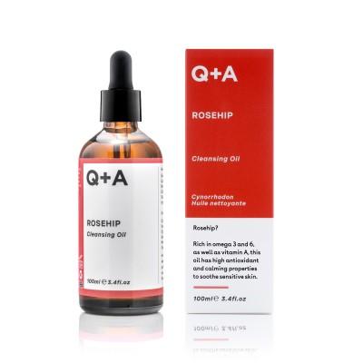Очищающее масло для лица Q+A ROSEHIP 100 мл
