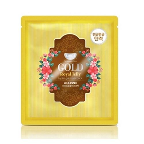 Гидрогелевая маска с золотом и маточным молочком Koelf Gold & Royal Jelly Hydro Gel Mask