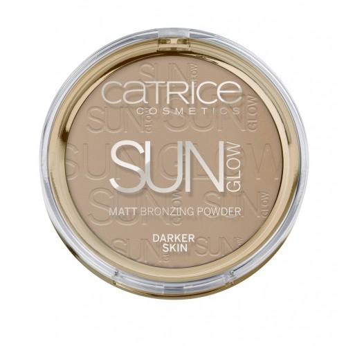 Компактная пудра с эффектом загара матирующая CATRICE Sun Lover Glow Matt Bronzing Powder