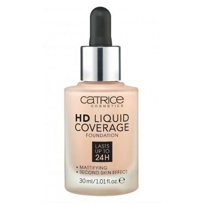 Жидкая тональная основа CATRICE HD Liquid Coverage Foundation