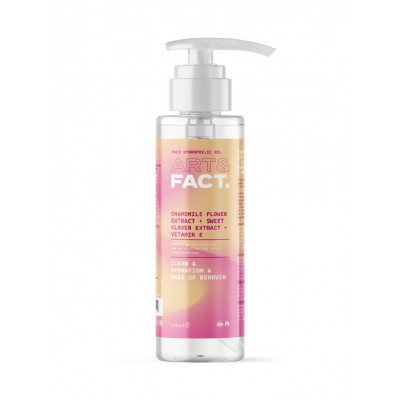 Гидрофильное масло для лица ART&FACT (Chamomile Flower Extract + Sweet Clover Extract), 100 ml