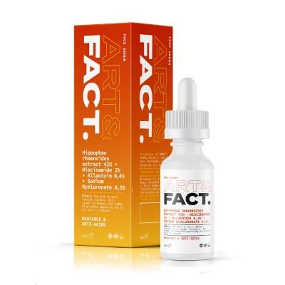 Сыворотка для сияния лица ART&FACT (Hippophae Rhamnoides Extract 42% + Niacinamide 2%)