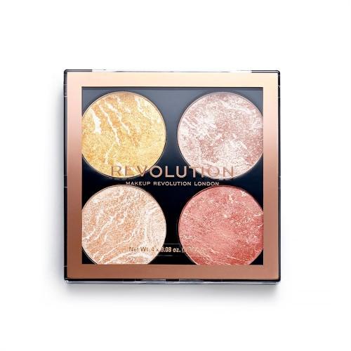 Палетка для макияжа Revolution Makeup 4 в 1 Cheek Kit, Make It Count
