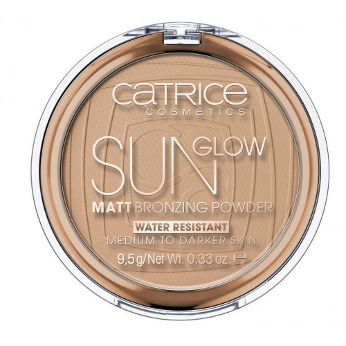 Компактная пудра с эффектом загара матирующая CATRICE Sun Lover Glow Matt Bronzing Powder, 035