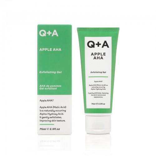 Отшелушивающий гель для лица Q+A APPLE AHA 75 мл