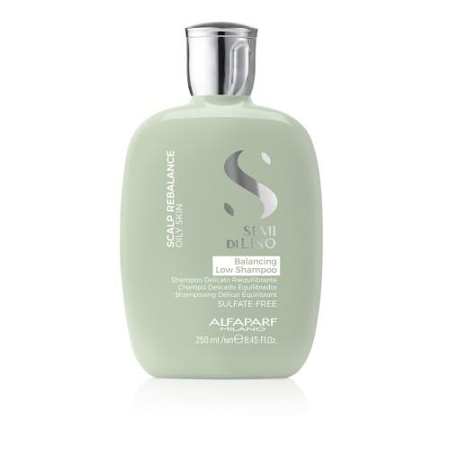 Балансирующий шампунь для волос Alfaparf Milano Semi Di Lino Scalp Care Balancing Shampoo