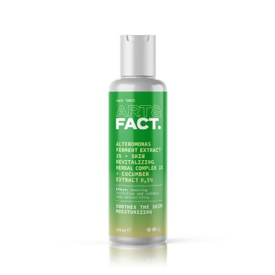 Тоник для лица ART&FACT (Alteromonas Ferment 1% + Skin Revitalizing Herbal 1% + cucumber 0,5%)