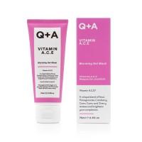 Гелевая маска для лица Q+A VITAMIN A.C.E. 75 мл
