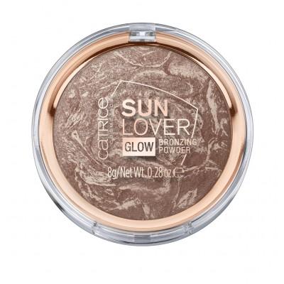 Компактная пудра с эффектом загара CATRICE Sun Lover Glow Bronzing Powder
