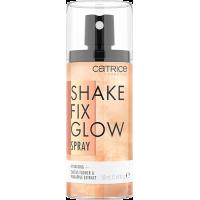 Спрей фиксирующий для макияжа с мерцанием CATRICE Shake Fix Glow Spray