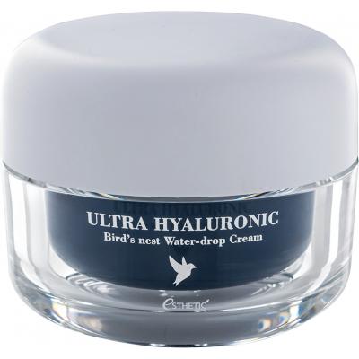 Крем с гиалуроновой кислотой и экстрактом птичьих гнёзд Esthetic House Ultra Hyaluronic Acid Bird's Nest Water-drop Cream