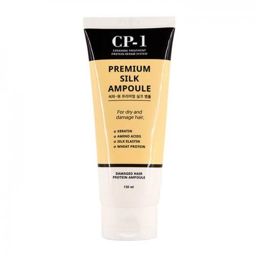 Несмываемая сыворотка для волос с протеинами шелка Esthetic House CP-1 Premium Silk Ampoule, 150 мл