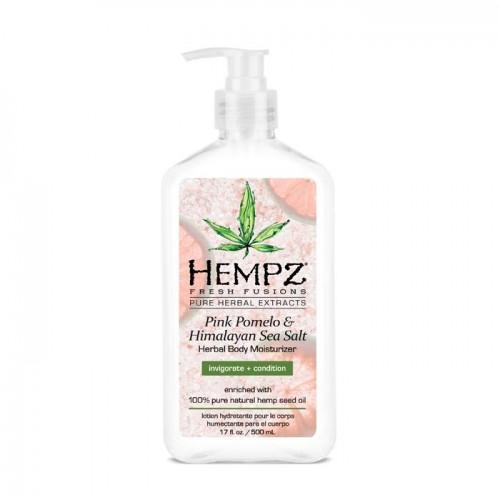 Молочко для тела увлажняющее Помело и Гималайская соль Hempz Pink Pomelo & Himalayan Sea Salt Herbal Body Moisturizer, 500 мл.