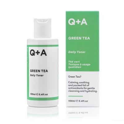 Тоник для лица Q+A GREEN TEA 100 мл