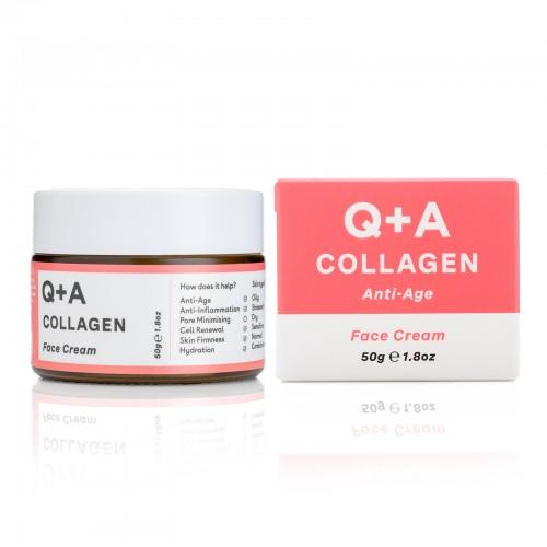 Крем для лица с Q+A COLLAGEN 50 гр