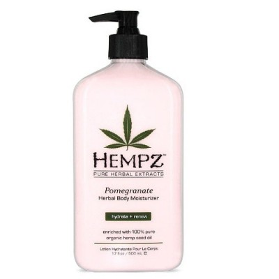 Молочко для тела увлажняющее Гранат Hempz Pomegranate Herbal Body Moisturizer, 500 мл.