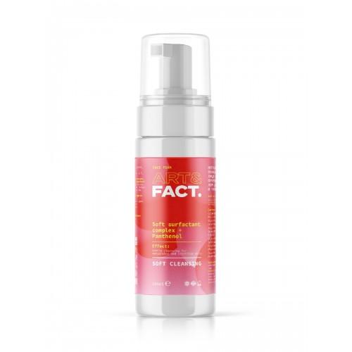 Пенка лица и ежедневного применения с пантенолом ART&FACT (Soft surfactant complex + Panthenol)