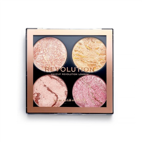 Палетка для макияжа Revolution Makeup 4 в 1 Cheek Kit, Fresh Perspective
