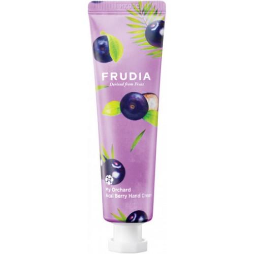 Питательный крем для рук с ягодами ассаи Frudia My Orchard Acai Berry Hand Cream, 30 мл.