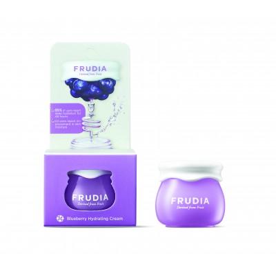 Увлажняющий крем с черникой FRUDIA Blueberry Hydrating Cream, 10 г.