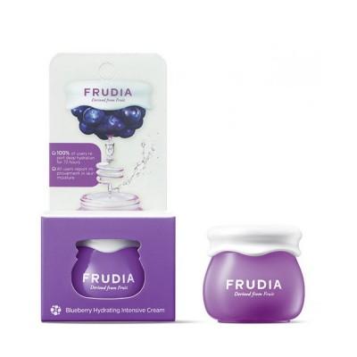 Интенсивно увлажняющий крем с черникой FRUDIA Blueberry Intensive Hydrating Cream, 10 г.