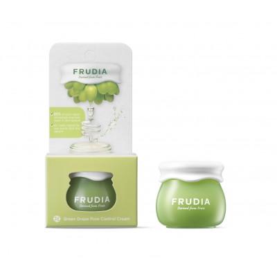 Себорегулирующий крем с зеленым виноградом FRUDIA Green Grape Pore Control Cream, 10 г.
