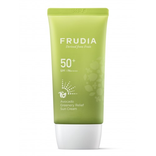 Солцнезащитный восстанавливающий крем с авокадо FRUDIA SPF50+PA++++ Avocado Greenery Relief Sun Cream