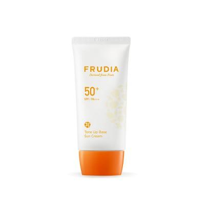 Солнцезащитная крем-основа FRUDIA Tone Up Base Sun Cream (SPF50+ PA+++)