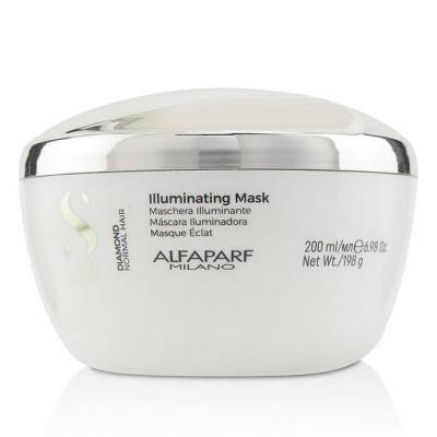 Маска для нормальных волос, придающая блеск Alfaparf Milano Semi Di Lino Diamond Illuminating Mask