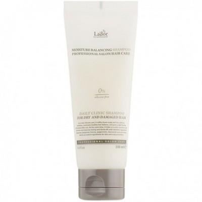 Шампунь безсиликоновый Lador Moisture Balancing Shampoo, 100 мл.