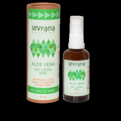Натуральный дезодорант LEVRANA «Алоэ Вера», 50 мл.