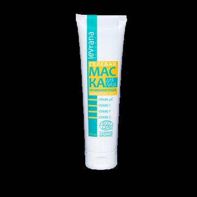 Маска для лица гелевая LEVRANA «Витаминизирующая», 100 мл