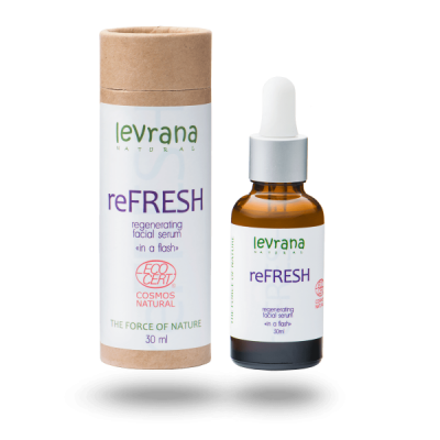 Регенерирующая сыворотка для лица LEVRANA reFRESH, 30 мл.