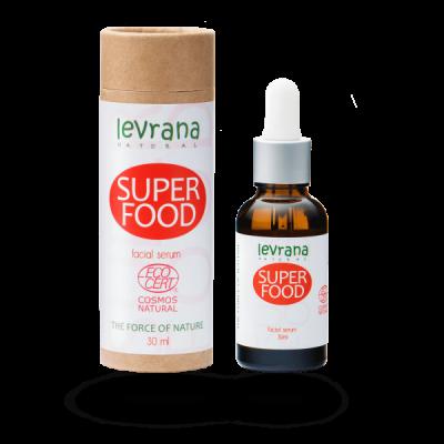 Сыворотка для лица LEVRANA SUPER FOOD, 30 мл.
