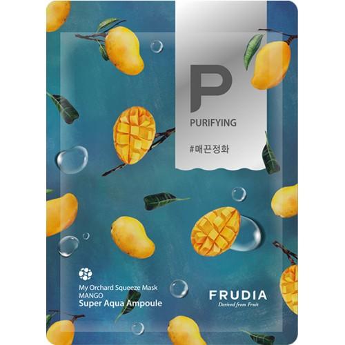 Смягчающая тканевая маска с экстрактом манго Frudia My Orchard Squeeze Mask Mango