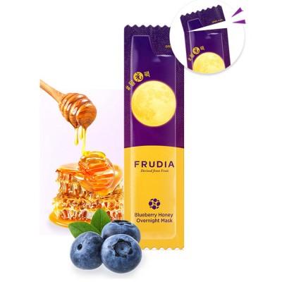 Питательная ночная маска с черникой и медом Frudia Blueberry Honey Overnight Mask