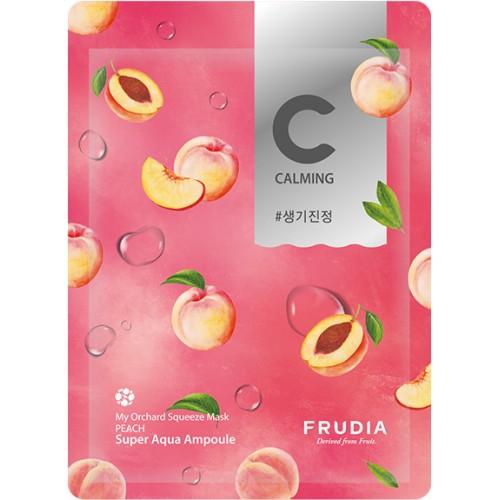 Питательная тканевая маска с экстрактом персика Frudia My Orchard Squeeze Mask Peach